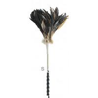 清掃用品 ニューカラーシリーズ ホコリ払い MM尾毛ハタキ 全長:S:450mm (CL-897-010-0)