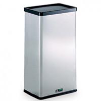 屋内用ステンレス製ゴミ箱 ステンターンボックス (DS-213-010-0)