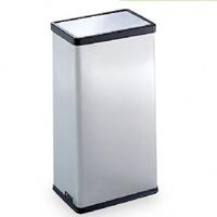 屋内用ステンレス製ゴミ箱 ステンターンボックス (ステンフタ) (DS-213-020-0)