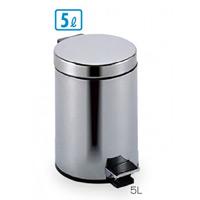 衛生容器 ペダルボックス 容量:5L (DS-238-505-0)