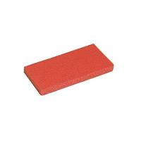 手動清掃用品 フロアメンテナンス用パット スコッチブライトハンドパット (5枚入) 用途:保守用 色:赤 (EP-518-650-2)