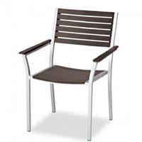 樹脂製・金属製 サンレノ 仕様:アームチェア (MZ-593-110-4)