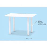 樹脂製 ガーデンテーブルNWT 角型 サイズ:W1000×D600mm (MZ-595-140-0)