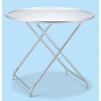 アルミ製 ガーデンアルミテーブル (折りたたみ式) (MZ-610-120-0)