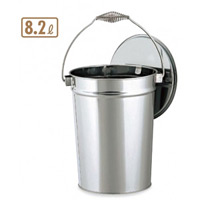 ステンレス収集缶 8.2L (SU-267-500-0)
