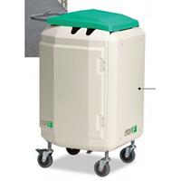 清掃用メンテナンスカート エアロカートF カラー:グリーン (DS-227-120-1)