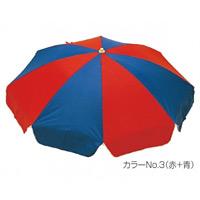 ガーデンパラソル716 カラー:赤+青 (MZ-591-716-No.3)