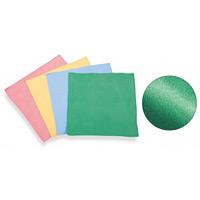 清掃用品 マルチファイバークロス カラー:緑 (CE-475-040-1)