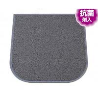 トイレ用品 レストルームマット カラー:緑 (MR-139-830-1)