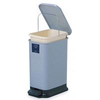 衛生容器 シャン132エコ カラー:ライトグレー (DS-218-113-8)
