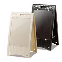 メッセージボード 差替え式 (小) カラー:ブラック (OT-557-100-7)
