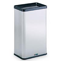 屋内用ステンレス製ゴミ箱 ステンエルボックス 規格:中缶なし (DS-213-110-0)