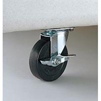 集積保管用ゴミ箱 ワイドペールオプションキャスター (1台分) 規格/キャスター直径:320/100mm (DS-221-632-0)