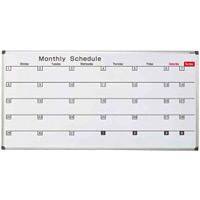 ホワイトボード AXシリーズ (壁掛) 予定表 横書き AX36SG 板面寸法 W1810×H920 (AX36SG)