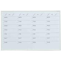 ホワイトボード MRシリーズ (壁掛) スケジュール MR23S 板面寸法 W910×H610 (MR23S)