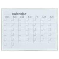 ホワイトボード MRシリーズ (壁掛) カレンダー MR2W 板面寸法 W610×H460 (MR2W)
