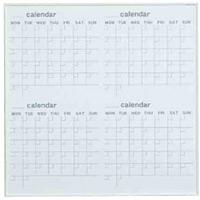 ホワイトボード MRシリーズ (壁掛) カレンダー MR33W 板面寸法 W910×H910 (MR33W)