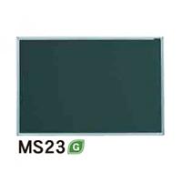 スチールグリーン黒板 MAJIシリーズ (壁掛) 黒板 無地 板面寸法:W910×H610 (MS23)