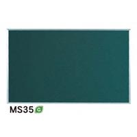 スチールグリーン黒板 MAJIシリーズ (壁掛) 黒板 無地 板面寸法:W1510×H910 (MS35)