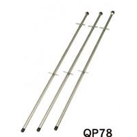 ホワイトボード MAJIシリーズ用 ハイポール 1本 QP78 (QP78)