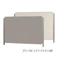 ボードパーティションR W1800×H1200 ホワイトボード/掲示板 カラー:グレー (PJHK406-G)