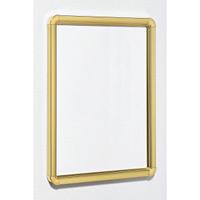 ポスターパネル333 B0 屋内用 4辺開きタテヨコ兼用 カラー:ゴールド (333-G-B0)