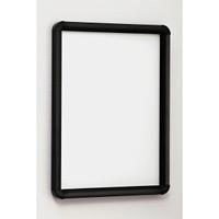ポスターパネル333 B0 屋内用 4辺開きタテヨコ兼用 カラー:ブラック (333-K-B0)