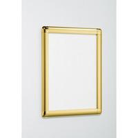 ポスターパネル338 A0 屋内用 4辺開きタテヨコ兼用 カラー:ゴールド (338-G-A0)