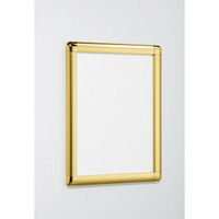 ポスターパネル338 B0 屋内用 4辺開きタテヨコ兼用 カラー:ゴールド (338-G-B0)