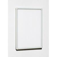 ポスターパネル スライド式 POPパネル AP55 A4 フレームカラー:ホワイト (AP55-W-A4)
