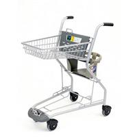 ショッピングカート メッシュ 子供チェアー付 (SC-800MX)