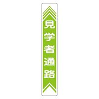 路面道路標識 900×150 表記:見学者通路 (101022)