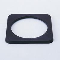 カラーコーンスタンド用 コーンウエイト 365mm角×24mm (116100)