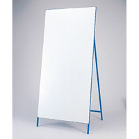 工事用看板 白無地 片面 サイズ:1400×550mm(板面) (129006)