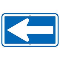 道路標識 一方通行 350×600 (133240)