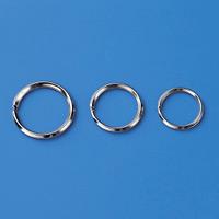金具 2重リング 10個1組 サイズ:内径21.6mmφ (137150)