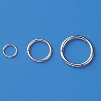 金具 リング 10個1組 サイズ:線径1.2mmφリング内径7mmφ (137180)