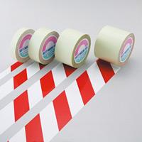 ガードテープ 白/赤 サイズ:50mm幅×100m (148063)