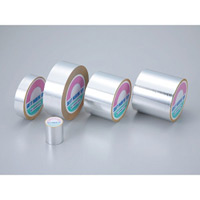 アルミ粘着テープ ツヤあり サイズ:25mm幅×20m (190128)