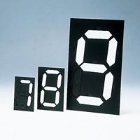 マグネット式数字表示器マグマック サイズ (板面) :中 140×90mm (229002)