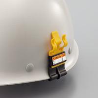 ヘルメット用ペンホルダー 仕様:ミゾなしヘルメット用 (241102)