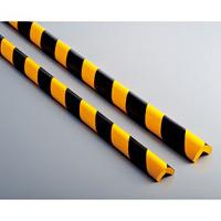 コーナーガード 黄/黒 サイズ:M 34×34×900mm (246114)