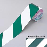 反射トラテープ 緑/白 サイズ:90mm幅×10m×0.15mm (256306)