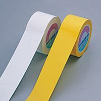 フロアマーキングテープ 100mm幅×33m カラー:白 (258031)