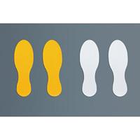 ラインプロ 足型 2枚1組 カラー:黄 (258160)