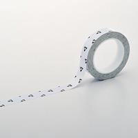 クリーンルーム用ラインテープ(帯電防止タイプ) 白 サイズ:25mm幅 (259011)