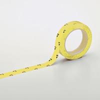 クリーンルーム用ラインテープ(帯電防止タイプ) 黄 サイズ:25mm幅 (259013)