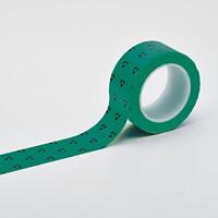 クリーンルーム用ラインテープ(帯電防止タイプ) 緑 サイズ:50mm幅 (259022)