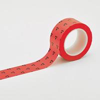 クリーンルーム用ラインテープ(帯電防止タイプ) 赤 サイズ:50mm幅 (259024)