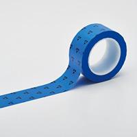 クリーンルーム用ラインテープ(帯電防止タイプ) 青 サイズ:50mm幅 (259025)